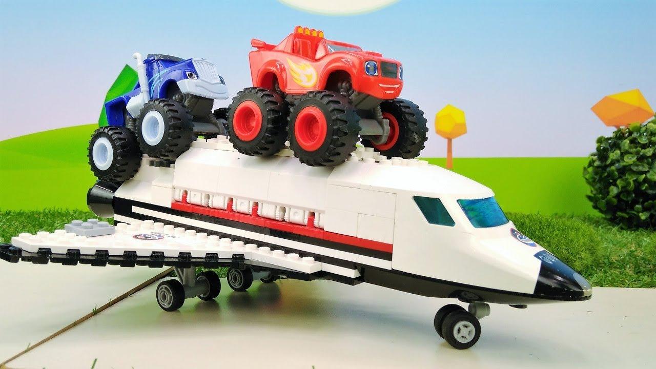 Машинки для мальчиков - Видео игрушки - Вспыш запускает ...