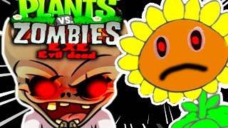 НОВЫЕ РАСТЕНИЯ ПРОТИВ ЗОМБИ.EXE ! - Plants vs Zombies.EXE: Evil Dead