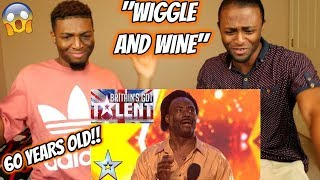 Donchez bags a GOLDEN BUZZER with his Wiggle and Wine! | Auditions | BGT 2018 (REACTION)
