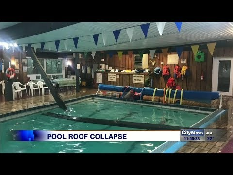 Tragedy averted when roof collapses at Schomberg swim school