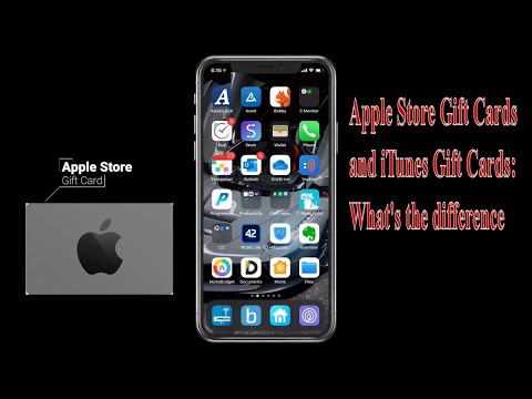 Apple Store Gift Cards And ITunes Gift Cards: What's The Difference