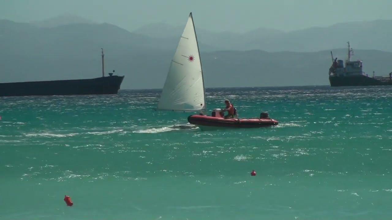 High Wind Laser Sailing