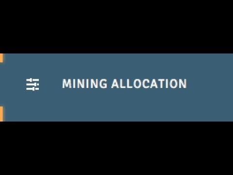 Change Genesis Mining Allocation!!! BEFORE AUG1st