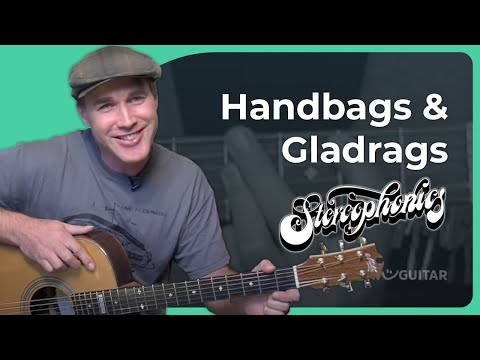How to play Handbags And Gladrags  Stereophonics Rock Guitar Lesson SB318