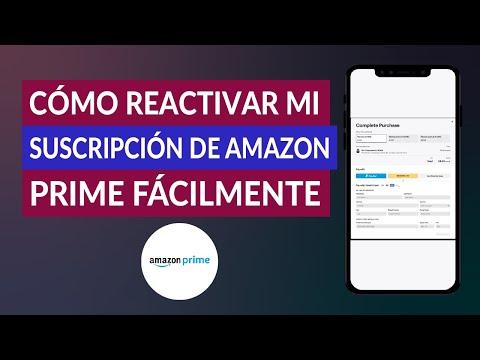 Cómo Reactivar mi Suscripción de Amazon Prime Fácilmente