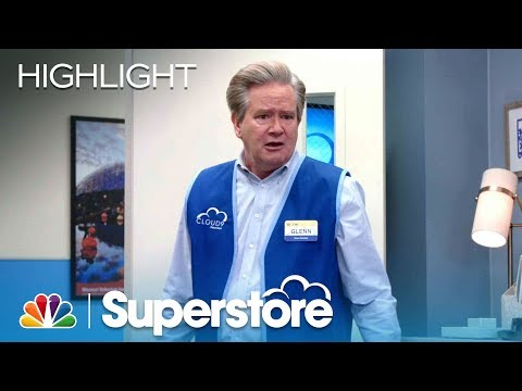 Glenn's Freak Out In Amy's Office - Superstore (Episode Highlight)