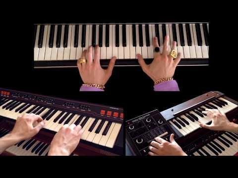 UPTOWN FUNK (Mark Ronson ft. Bruno Mars) - Vintage Keyboards Cover #4