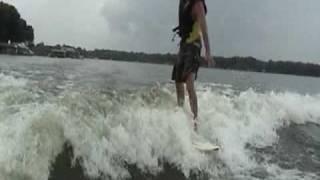 Surfing Cedar Creek