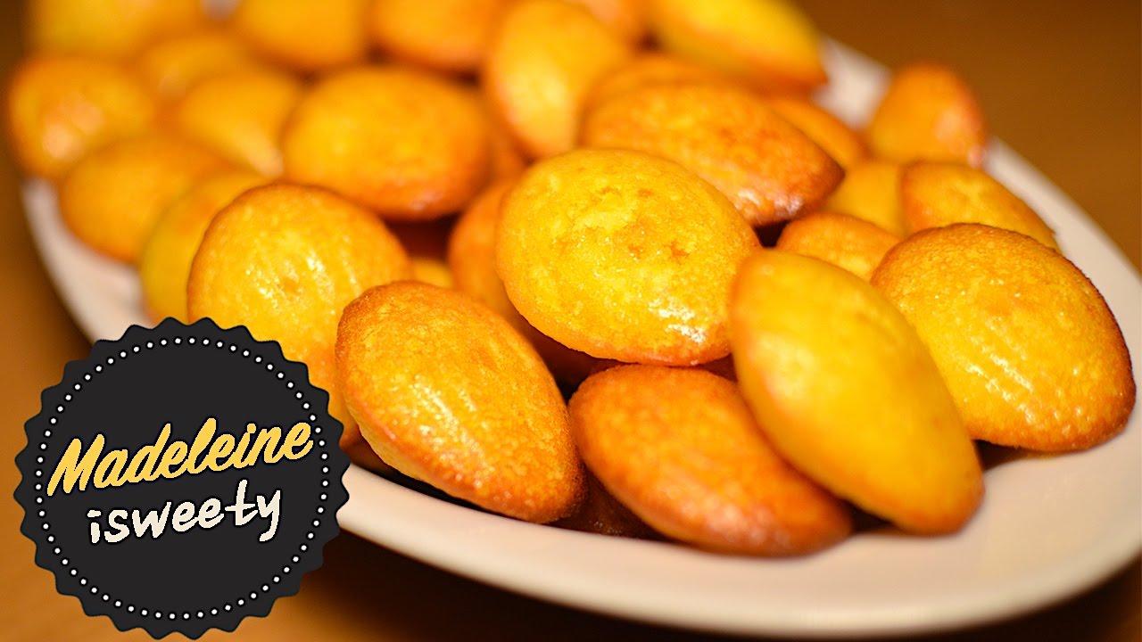 Madeleine Ricetta Francese - Petite Madeleine Recipe | How To Make ...