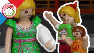 Playmobil en français Le bras cassé - La famille Hauser - film pour enfants
