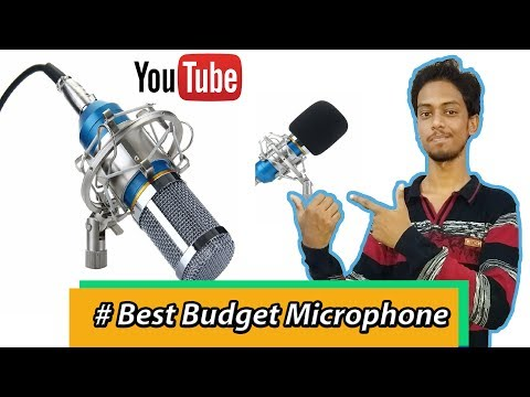 [Hindi] Best Budget Studio Microphone Under 2000/- Unboxing,Testing, features Full Explain working !