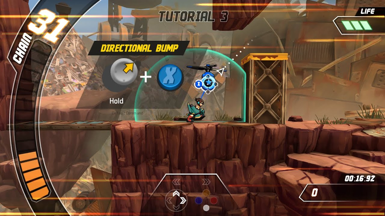 How to Play Skybolt Zack - Tutorial 3: Focus Attack and Directional Bump