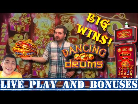 New Slot Alert Live Play And Bonuses On Dancing Drums