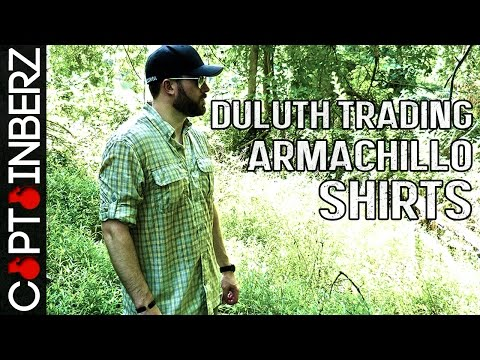 Armachillo Shirts by Duluth Trading Co.