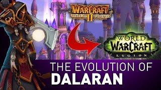 How Dalaran EVOLVED From Warcraft II to Legion