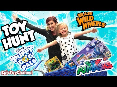 New Paw Patrol Toys + New Blaze And The Monster Machines And New Disney Puppy Dog Pals At Toys R Us