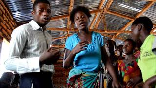 Most Powerful Gospel Song Young Mozambique Mum sings with choir Hope Christian Mission Malawi