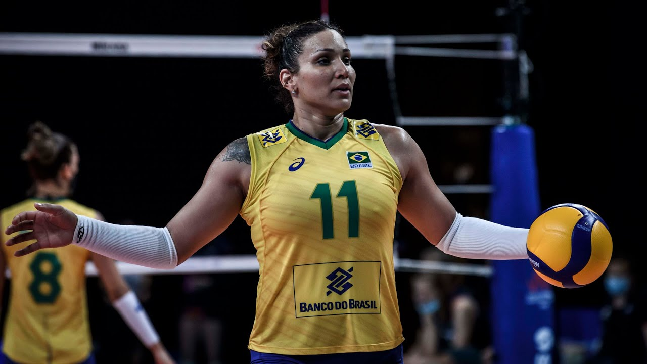 The Iron Lady in Volleyball - Tandara Caixeta