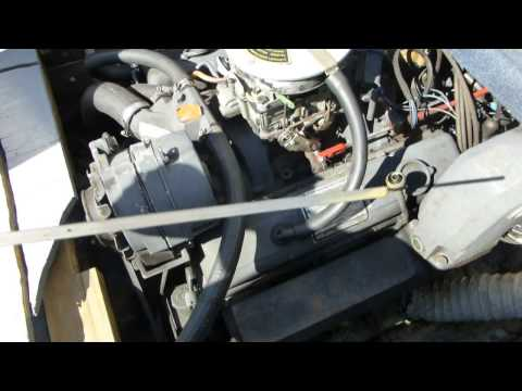 Boat engine oil change problem - water in the oil