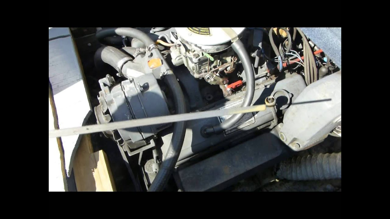 Boat Engine Oil Change Problem Water In The Youtube Pontiac 3 4 Head Diagram