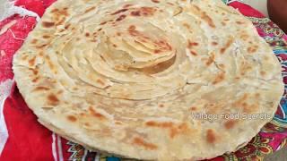 Lachha Paratha   Multi Layered Bread   Layered Poratha   Lachay dar Paratha   Village Food Secrets