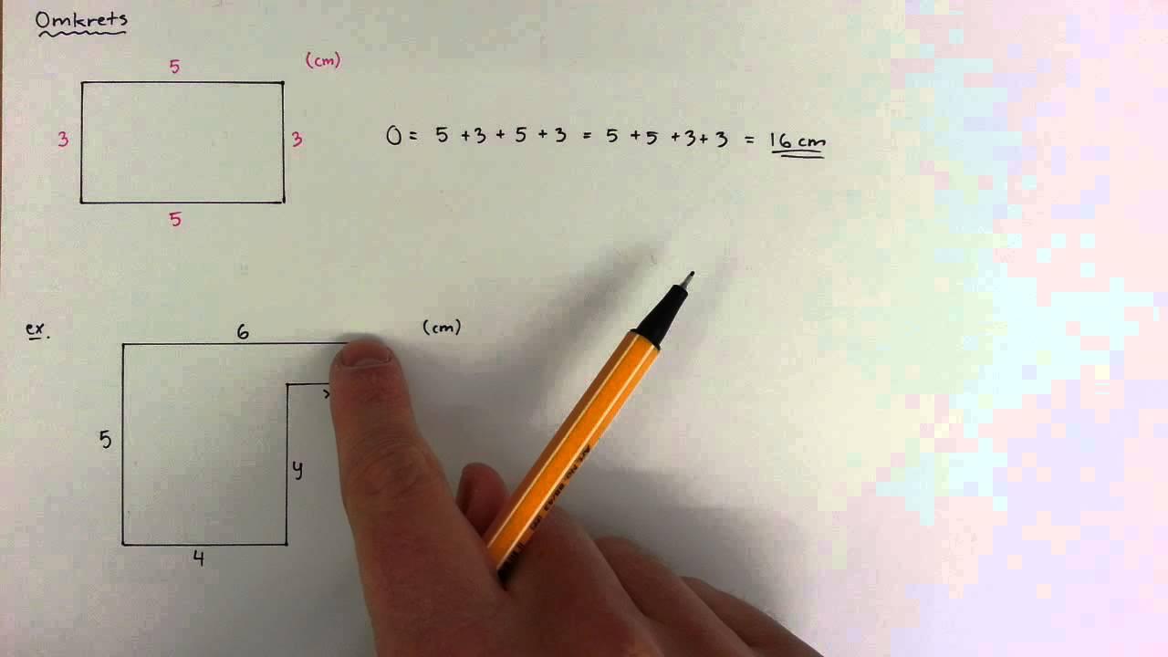 7 - Geometri - Omkrets