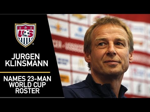 Meet Jurgen Klinsmann's 2014 World Cup roster