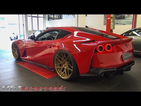Ferrari 812 Superfast - Start Up, Revs & Accelerations 2018! Amazing V12 SOUND!