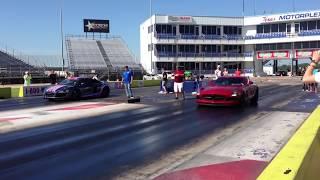 SL63 AMG 1/4 Mile And Brabus SLS vs. Audi R8