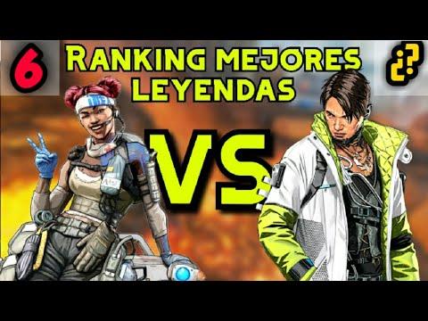 ¡RANKING De PEOR A MEJOR LEYENDA! APEX LEGENDS TEMPORADA 3