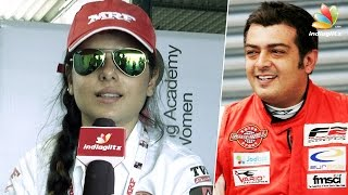 Ajith is my Godfather - Alisha Abdullah, India's First Female Racing Champion || Interview
