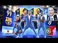 RONALDO TOTY 99 E MESSI TOTY 99 🔥 TOP 10 REAÇÕES PACK OPENING FIFA 19 ULTIMATE TEAM