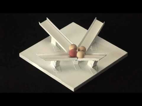 Impossible motion: magnet-like slopes