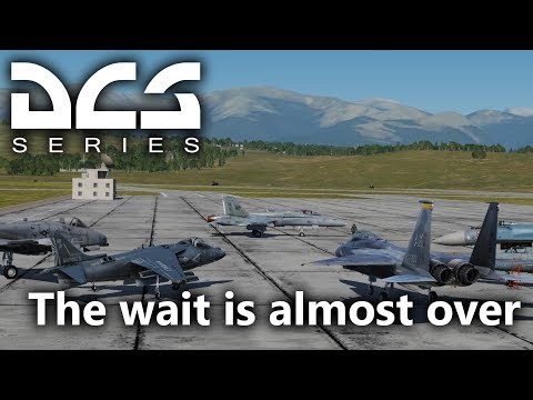DCS World - F/A 18 - The wait is almost over