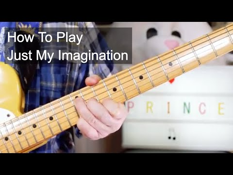 'Just My Imagination' Prince Guitar Lesson