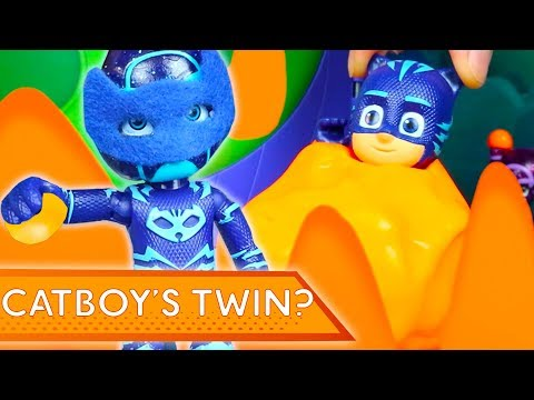 PJ Masks Creations  Catboy's Twin? Halloween Special | Play with PJ Masks