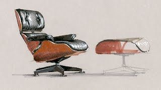 Tutorial - Freehand Rendering, Eames Chair, Short4x, 6 Min, 160121