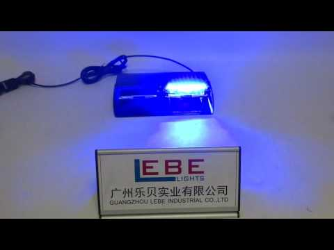 LB1109 Blue LED Dash Light, LED Emergency Light.