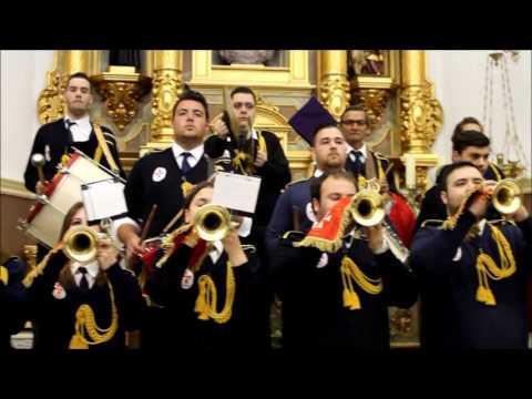 Banda de cornetas y tambores CABALLEROS DE SAN JUAN QUERO Toledo  2016