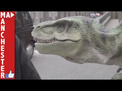 A day with a magician and Dinosaur in Manchester