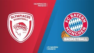 Olympiacos Piraeus - FC Bayern Munich Highlights | Turkish Airlines EuroLeague, RS Round 20