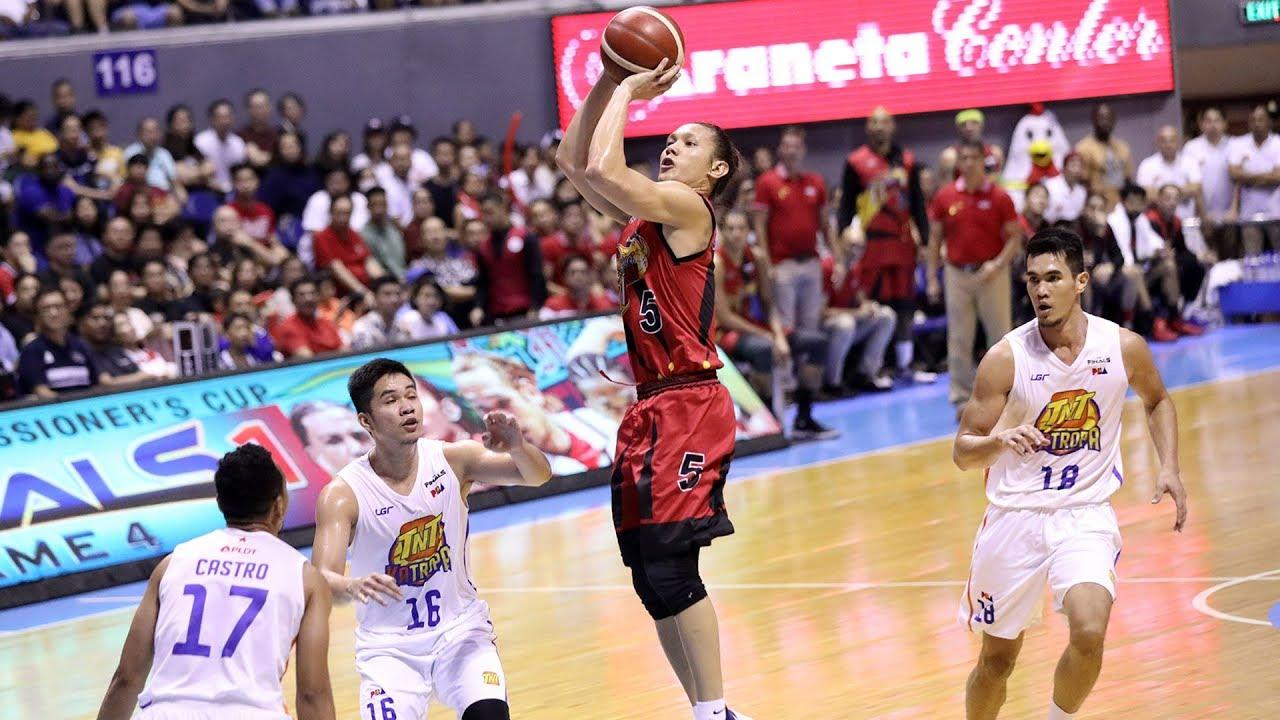 Filipino basketball game
