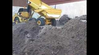 Wedico cat  740 dump truck
