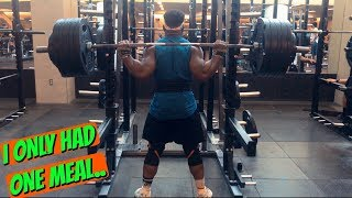 I Only Ate One Meal.. | Raw Nationals Ep. 2