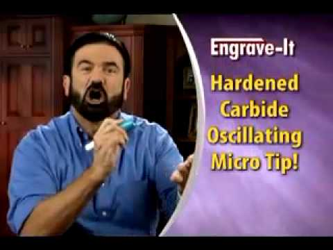 Billy Mays - Engrave-It