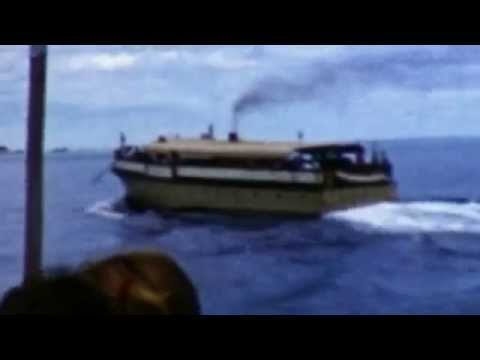 On the Way to Rottnest - 1959