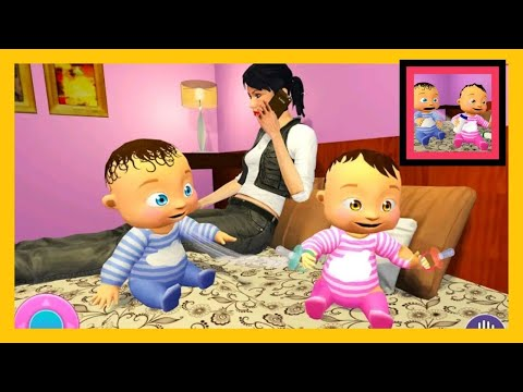 Real Twins Baby Simulator 3D - New Baby Simulator Android Game