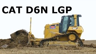 power caterpillar d6n lgp crawler tractor in action cat planierraupe in aktion