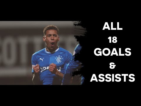 James Tavernier - Rangers | All 18 Goals & Assists | 2017/18