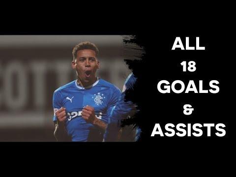James Tavernier - Rangers   All 18 Goals & Assists   2017/18